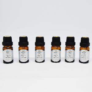 6 darabos illóolaj készlet / 6x10 ml illataroma díszdobozban