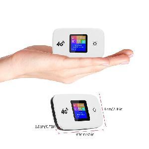Vezeték nélküli 4G Router – 2400 mAh akkumulátorral / SIM kártyával működtethető