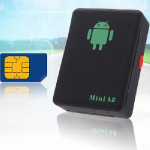 Mini A8 GPS nyomkövető - kártyafüggetlen