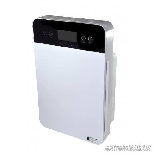 Digitális légtisztító készülék HEPA szűrővel, távirányítóval, 40W teljesítménnyel