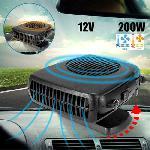 Szivargyújtós autós hűtő-fűtő ventilátor és páramentesítő