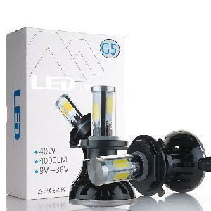 G5 COB LED Autós Izzó 40W 9-36V H1 H3 H4 H7