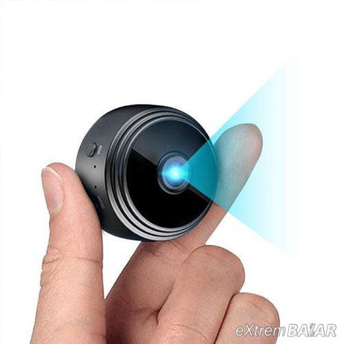 Mágnessel rögzíthető mini kamera, Wifi kapcsolattal