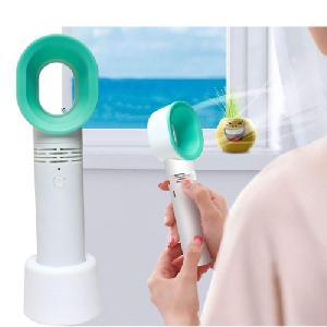 Mini, lapát nélküli ventilátor / asztali + kézi kialakítás