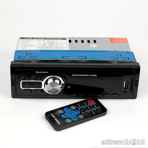 Bluethcar 5218 autórádió LED kijelzővel és távirányítóval