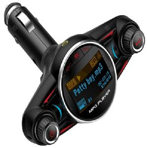 Autós Bluetooth kihangosító készlet FM transmitter