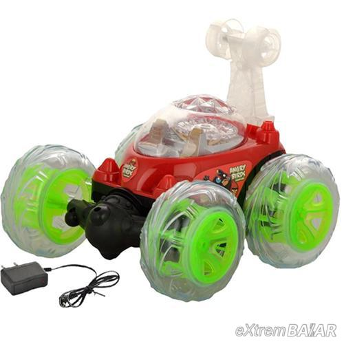 Car 2 Újratölthető autó akkumulátorral Turnator 360 távvezérlő, RC rádió, sötétben világító