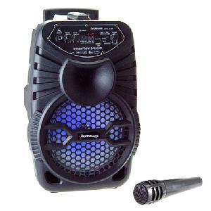 """Vezeték nélküli hordozható hangszóró mikrofonnal 8"""" CH-829"""