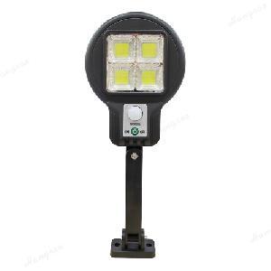 Kültéri, fali napelemes lámpa, fény- és mozgásérzékelővel / 48 cob leddel