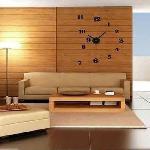 DIY ragasztható falióra