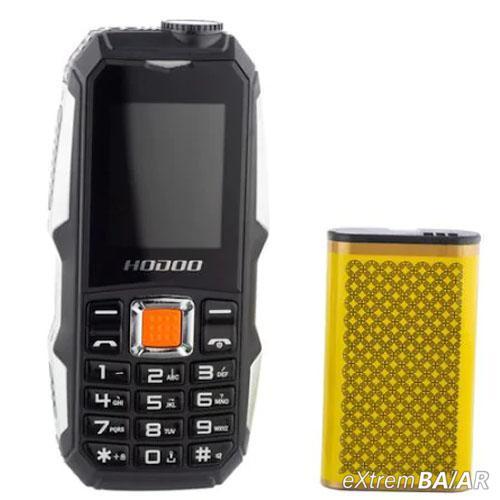 Dual SIM Katonai telefon F8 - 3800 mAh, FM rádió, Bluetooth, Zseblámpa