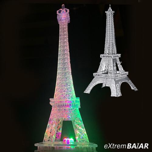 3D led Eiffel torony lámpa