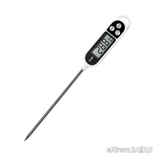 Konyhai maghőmérő – Digitális ételhőmérő  - 50°C-től + 300°C-ig