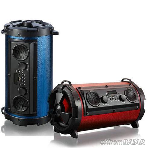 Bluetooth hordozható multimédia lejátszó MP3 USB FM rádió - HBPC1602