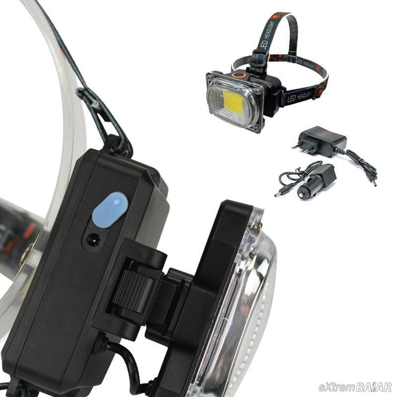 Extraerős többfunkciós Vízálló fejlámpa / állítható pánttal és lámpatesttel