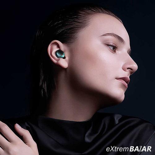 F9 PLUS TWS vezeték nélküli fülhallgató Bluetooth 5.0 és töltődoboz