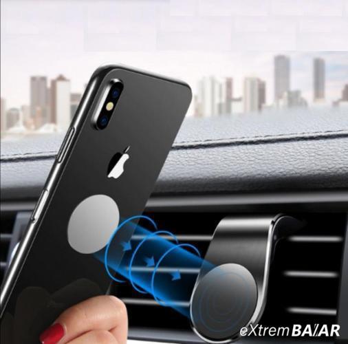 Mágneses autós telefontartó / szellőzőrácsba illeszthető