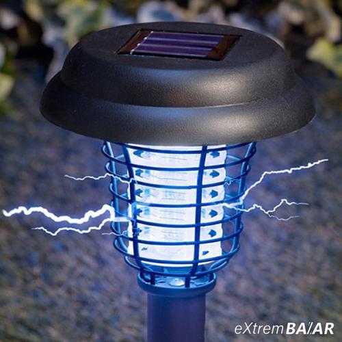 Kerti napelemes, szúnyogirtó LED lámpa / leszúrható