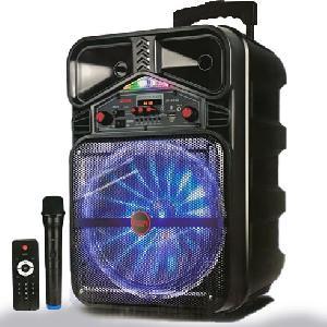 """Vezeték nélküli hordozható hangszóró mikrofonnal 12"""" JK-5212"""