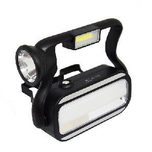 Fogantyús napelemes lámpa / 3 fényforrással