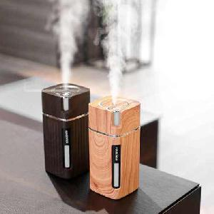 Fa hatású aromaterápiás párologtató, ultrahangos párásító és illatosító - L1