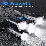 Multifunkciós fejlámpa, 5+1 fényforrással 13000LM legfényesebb, 21 LED 9 üzemmód