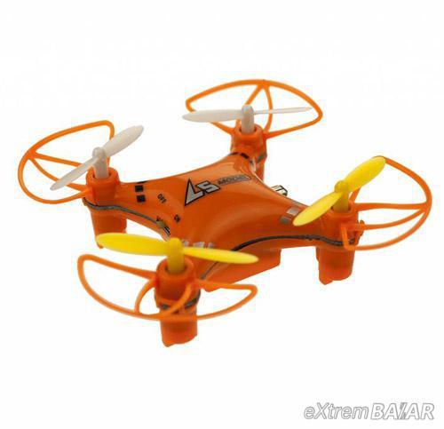 LianSHENG mini Quadcopter ( Drón ) LS112 4 csatornás 2,4 GHz RTF rádió ellenőrző RC 6-tengelyes giroszkóp