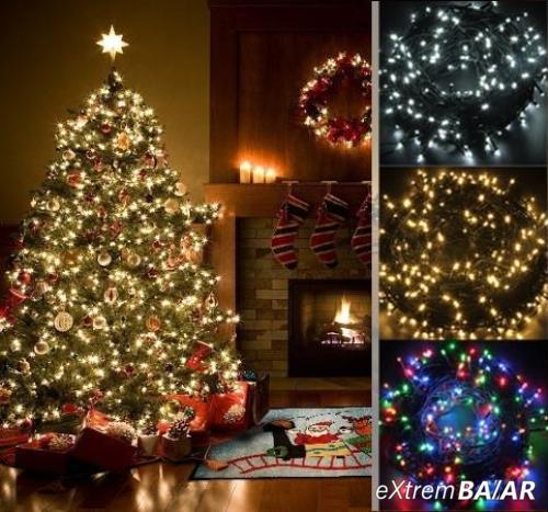 Karácsonyi fényfüzér - 240 LED