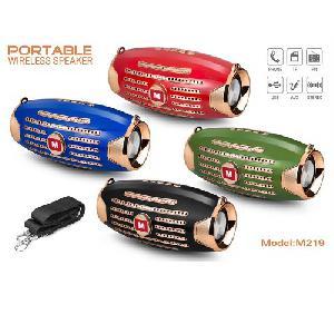 M219 Bluetooth vezeték nélküli hordozható MP3 zenelejátszó