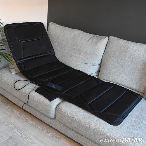 9 Motoros Fűthető Vibrációs Masszázs matrac - Távvezérlővel