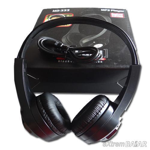 MP3 lejátszó fejhallgató MD-333 TF kártya