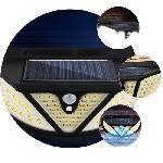 NF-118 Napelemes kültéri fali lámpa – mozgásérzékelővel -118 SMD LED