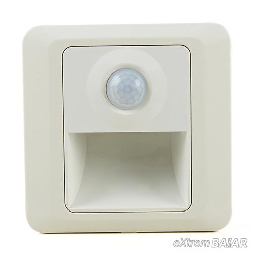 MINI LED SAROKFÉNY / 1 wattos LED-es mozgásérzékelő éjszakai fény TR-009 /