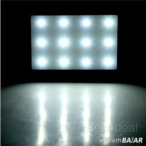 Power Bank 20000mAh Dual USB Napelemes, 6 LED-es ( External Solar Battery )