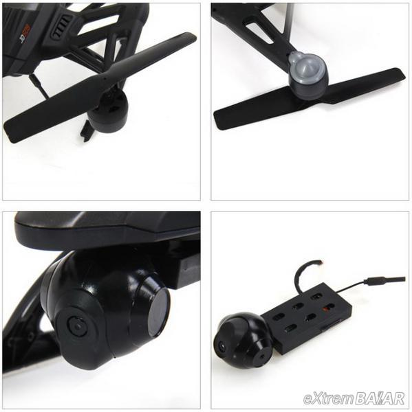 Pioneer UFO FPV Quadcopter ( drón ) 2,4 GHz 2MP FPV camera Wifi !!!!