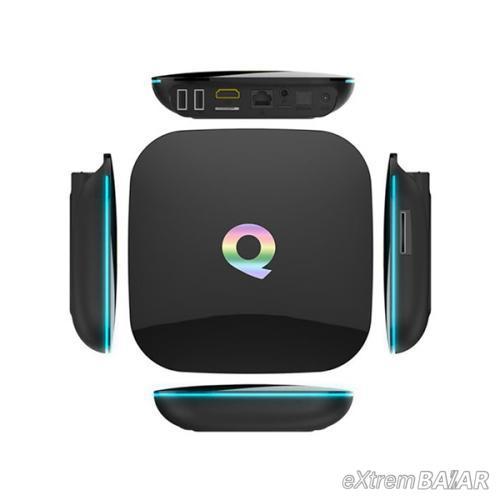 Q Plus Android Smart TV Box - tv okosító / 4 GB RAM, 64 GB ROM, Quad-Core, Android 9.0, WiFi