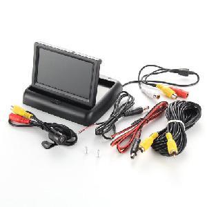 TFT LCD monitor autóba tolatókamerával