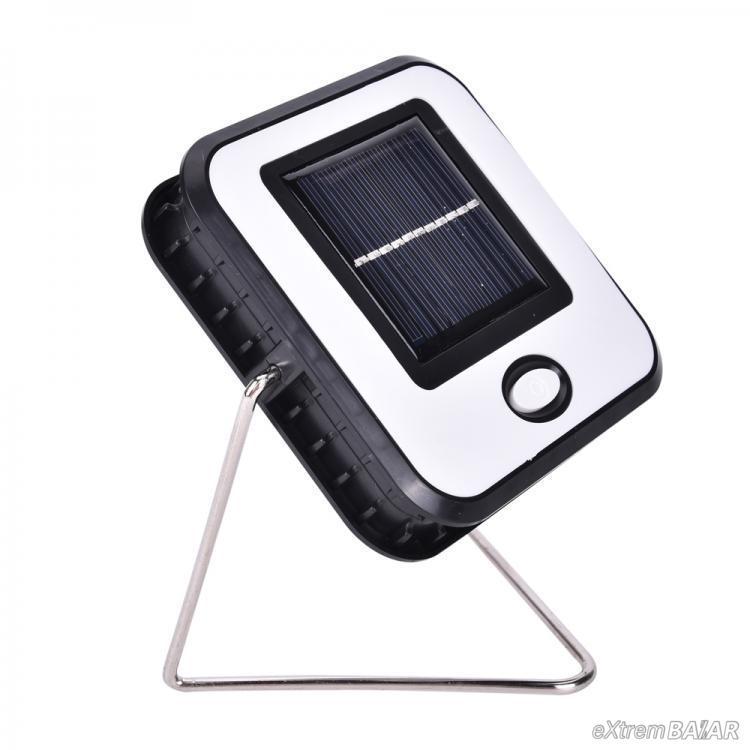 Újratölthető napelemes lámpa Állvány USB kábel jelzőfény RY-T913 1 fény COB