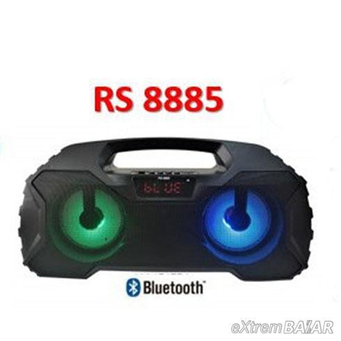 Hordozható BLUETOOTH hangszóró, USB, MICRO SD - RS-8885