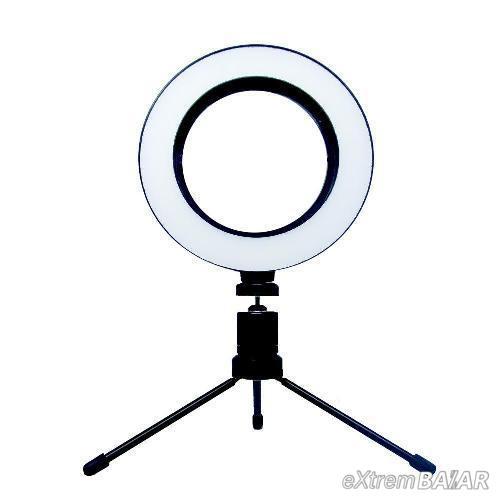 LED Dimmelhető Fénygyűrű Állvánnyal – Szelfi lámpa