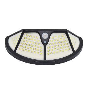 Mozgásérzékelős, napelemes LED lámpa, 700 lumen