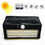 Napelemes mozgásérzékelős fali lámpa 30 LED