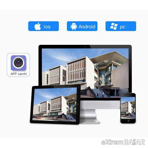 Kültéri távolról vezérelhető WiFi PTZ biztonsági kamera / HD 1080P 8LED PTZ CCTV Onvif
