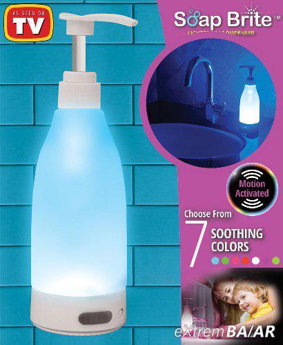 Ledes szappanadagoló / fény- és mozgásérzékelővel