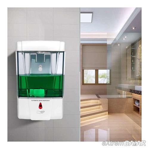 Fali, automata, érintésmentes szappanadagoló / 700 ml