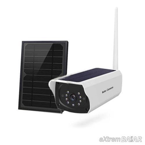 Napelemes vezeték nélküli IP kamera + szolár panel, HD 2MP IP66