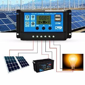 Solar napelemes panel töltés vezérlő