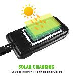 Extra fényes, napelemes, mozgásérzékelős kültéri lámpa HS-8013C