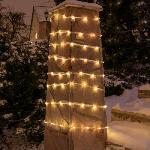 100 LED-ES NAPELEMES FÉNYFÜZÉR