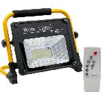 Napelemes szolár LED reflektor, munkalámpa távirányítóval 150W IP67 W745A